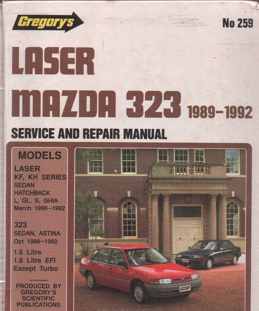 Panduan Service  Service Manual Mazda 323 1989