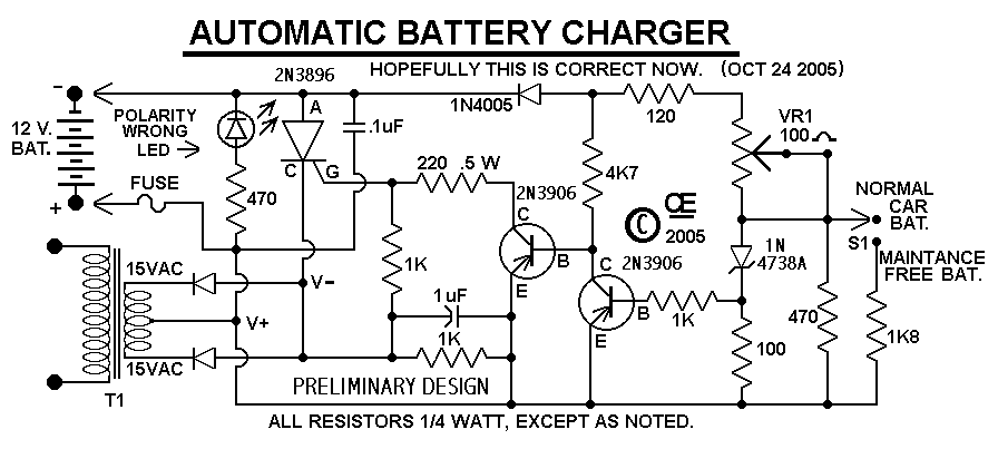 Diagram Charger Accu